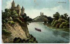 RUDELSBURG Saale Partie Sachsen-Anhalt color AK um 1910
