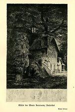 Bruno Héroux-mulino della Maria Antoinette Versailles arte pressione di 1910