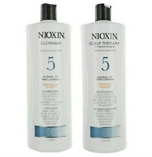 NIOXIN SYSTEM 5 CLEANSER SHAMPOO & SCALP THERAPY CONDITIONER 33.8 OZ / 1L EACH