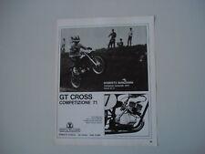 advertising Pubblicità 1971 MOTO MULLER GT CROSS 50