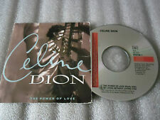 CD-CELINE DION-THE POWER OF LOVE-NO LIVING WITHOUT LOVING-(CD SINGLE)1993-2TRACK