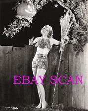 NANCY CARROLL 8x10 Lab Photo 1920s HALLOWEEN WITCH JACKOLANTERN Glamour Portrait