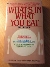 What's in What You Eat (1983, Paperback) store#2909