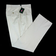 New HOUSE of CARRINGTON Legend Sandshell Cotton Khaki Chino Pants 38 NWT