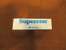 Supercon Pp50Gb Black 50 Ampere Electrical Connector Pn 187,271 600V