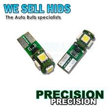 T10,501 5 SMD Alta Alimentazione 5050 Chip LAMPADINE A LED INTERIOR, finestra laterale, Targa