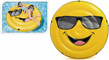 Intex Pool Float Inflatable Cool Guy Smile Island Lounger 173 X 27 Cm
