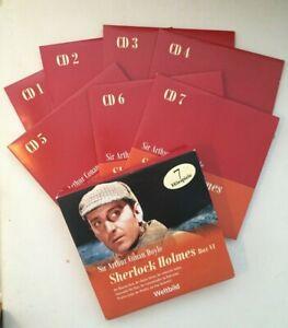 7CD BOX SHERLOCK HOLMES VI MARITIM Weltbild VGH Hörspiel Sir Arthur Conan Doyle