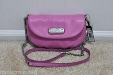 NWT Marc by Marc Jacobs New Q Karlie Cross Body Handbags Pink Bubblegum MSRP$258