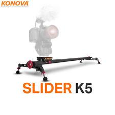 """Konova Camera Slider K5 80cm(31.5"""") Kamera Schiene Slider Videoschiene für DSLR"""