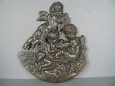 BAS RELIEF PUTTI ANGELOTS OISEAUX / SCULPTURE BAS RELIEF PUTTI AMOURS / PUTTO
