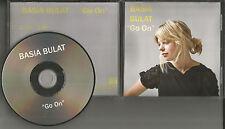 BASIA BULAT Go On PROMO Radio DJ CD single 2010 USA MINT