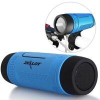 Powerful Bluetooth Speaker Bicycle Fm Radio Outdoor Waterproof Portable Wireless