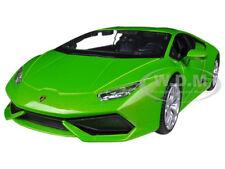 LAMBORGHINI HURACAN LP610-4 GREEN 1/24 DIECAST MODEL CAR BY MAISTO 31509
