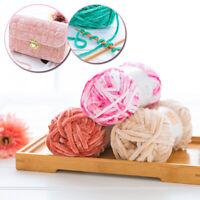 100g Super Soft Knitting Chenille Yarn Chunky Baby Wool DIY Blanket Hat Scarf