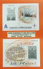 2 PRUEBAS DE LUJO España 2000 EDIFIL Nº 72+73 EXFILNA ASTURIAS y S.MARIA LA REAL