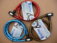 Oxford Barrier Armoured Cable Lock Bicycle Motorbike Quad Bike Key 1.5m Security