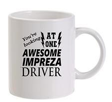 Awesome Impreza Driver Mug New Funny Birthday Gift Dad Subaru wrx wrc
