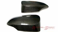 REAL GLOSSY CARBON FIBER SIDE MIRROR COVER FOR 13-16 YARIS HATCHBACK XP130 XP150