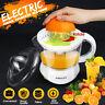 Press Juicer Machine Electric Citrus Orange Fruit Lemon Squeezer Extractor