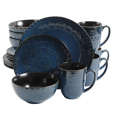 16-piece Dinnerware Set Cookware Kitchen with Modern / Classic Texture