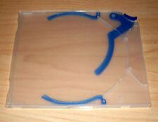 5 CD / DVD Hüllen Ejector Case transparent blau Maxi SLIM Slimcase 5mm Neu