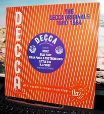 "VARIOUS.  ""THE DECCA ORIGINALS 1960-1964""  DECCA UK 1982 LP. EX COND."
