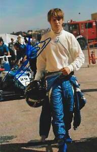 JOHNNY CECOTTO JR ORIG SIGNED PHOTO: FORMER F1-TEST-DRIVER - GREAT ITEM