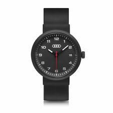 Audi Watch Black 3101800100 Wrist Watch Quartz Movement Date Genuine New