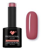 VB-740 VB™ Line Dark Pink Flower Bud Saturated - UV/LED soak off gel nail polish