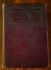 Electrical Equipment Of The Motor Car 1922~(256 AUTO ELECTRICAL BLUEPRINT) 762 P