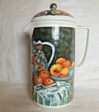 Chaleur Masters Collection D. Burrows Paul Cezanne Ceramic French Coffee Press