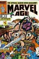 Marvel Age #27 in Near Mint minus condition. Marvel comics [*88]