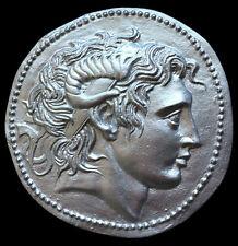 Alexander the Great Lysimachos Lysimachus coin plaque Replica Reproduction