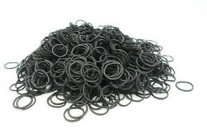 Loom Bands  80gm  Rubber Bands  Loom Band S Clips  Black Colour