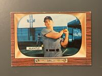 1955 Bowman #202 Mickey Mantle VGEX-EX New York Yankees HOF