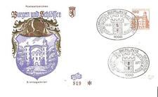 Beleg Berlin FDC ( Nr. 539 ) DS Burgen & Schlösser 190 Pf. 1977