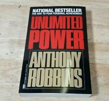 Unlimited Power - Anthony Robbins (1987, Paperback)