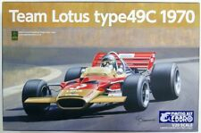 Ebbro 20006 Team Lotus type 49C (1970) 1/20 Scale Plastic Model