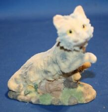 K's Collection Flocked Resin Cat figurine