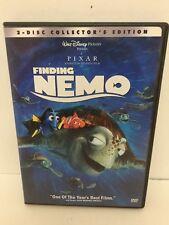 Disney Pixar Dvd Finding Nemo 2 Disc Collectors Edition Free Shipping 5A