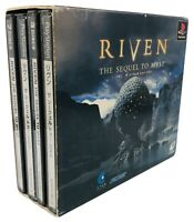 RIVEN THE SEQUEL TO MYST Item Ref/bbcc PS1 Playstation PS Enix Japan Game p1