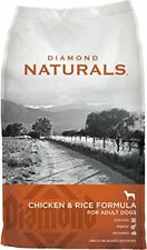Diamond Naturals Dry Food for Adult Dogs Chicken and Rice Formula 40 Pound Bag