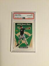 1993 Derek Jeter Topps Rookie Signed autographed Card PSA/DNA Slab