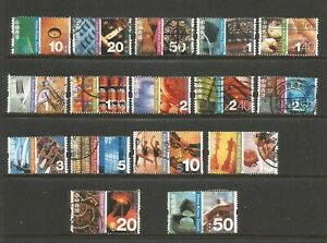 Hong Kong 2002 Cultural Diversity Full Used Set SG 1119/1134