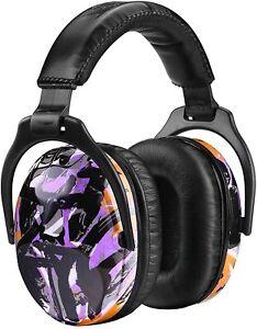 Kids Ear Defenders, Ultra Comfort Graffiti Purple