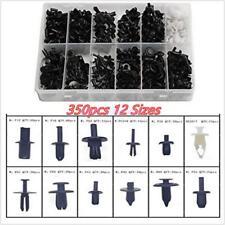 Platstic 350pcs 12 Sizes Car Push Pin Rivet Moulding Trim Clip Panel Assorted