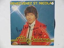 ALAIN DELORME Venez venez St Nicolas AQS 006 Dédicacé