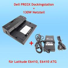 Dell PR03X Dockingstation + 130W Netzteil für Latitude E6410, E6410 ATG