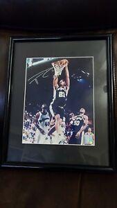 Tim Duncan AUTOGRAPHED/SIGNED photo framed - San Antonio Spurs coa